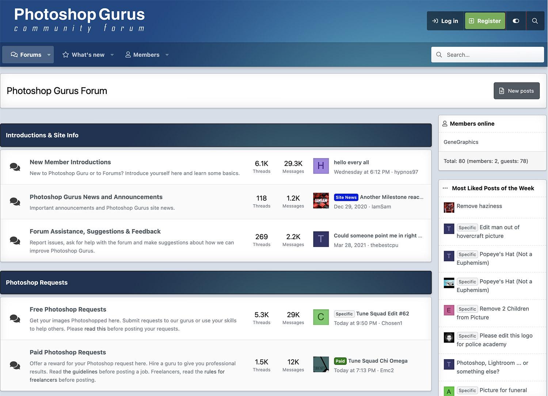Photoshop Gurus Forum