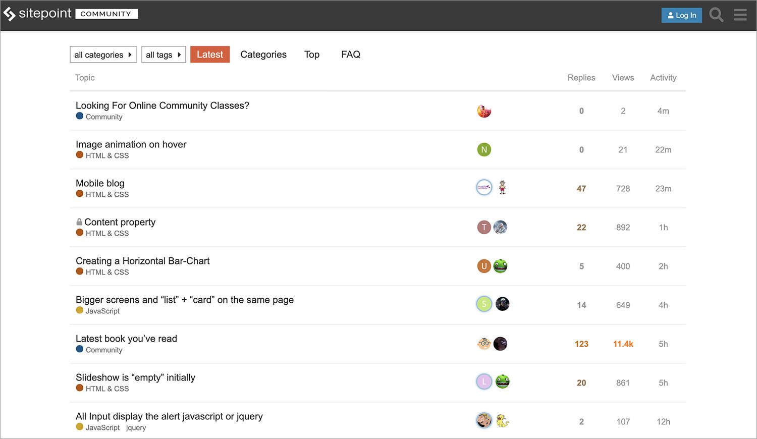 The SitePoint Forums