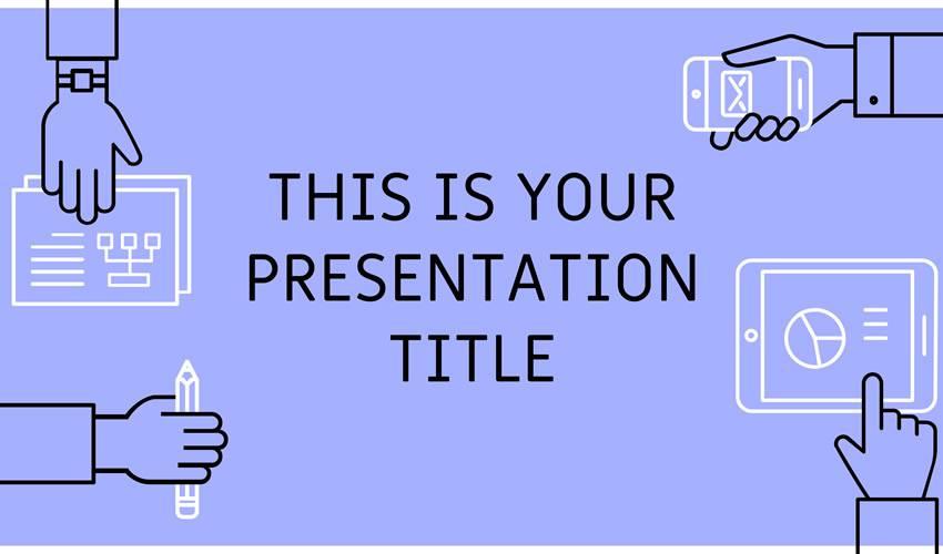 Roderigo google slides theme presentation template free