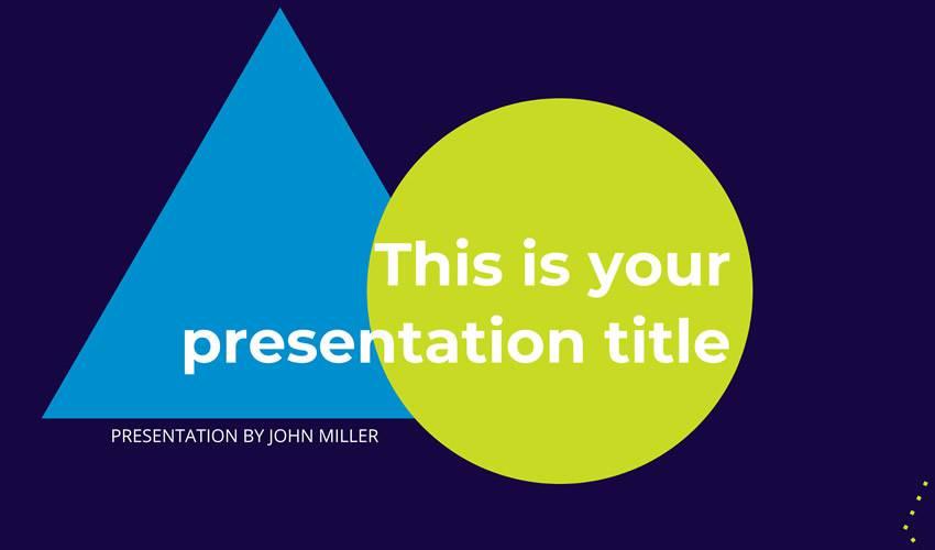 Creative google slides theme presentation template free