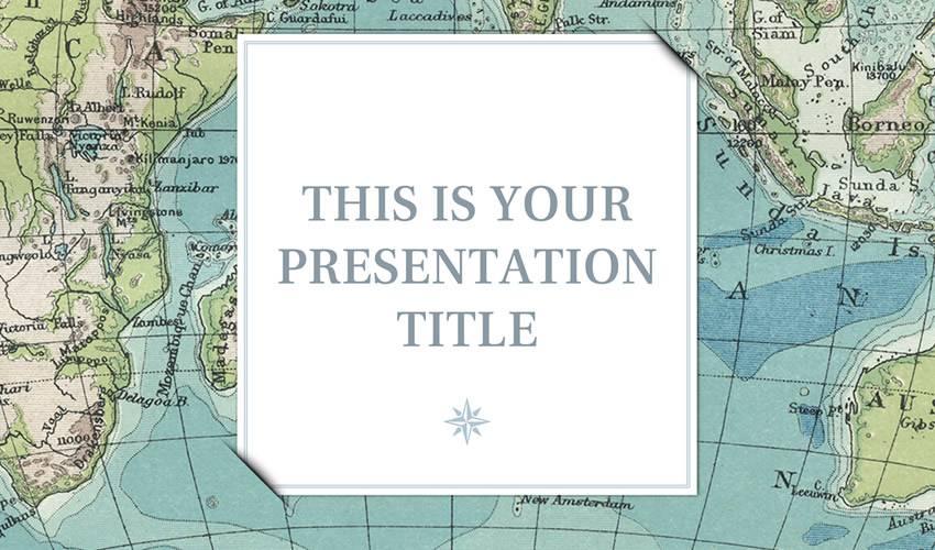 dion google slides theme presentation template free