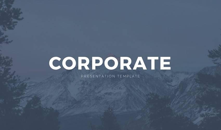 Corporate business google slides theme presentation template free