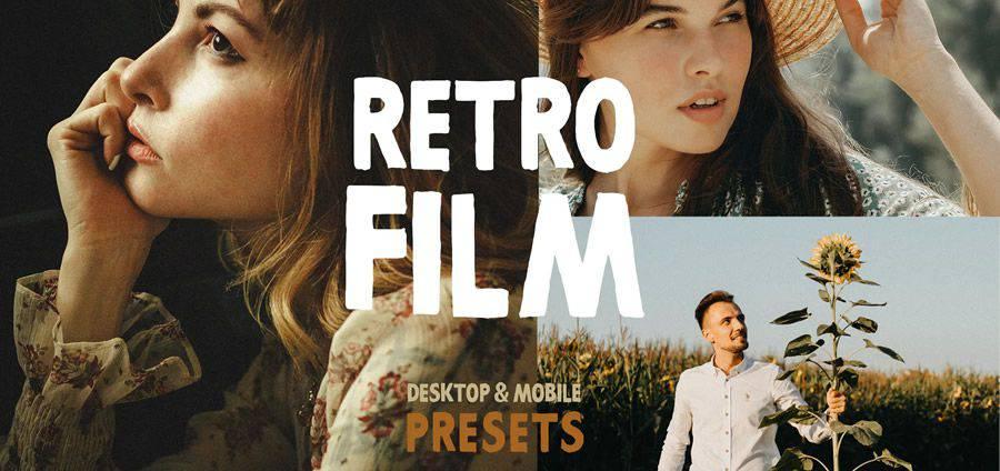 Retro Film free photoshop action atn