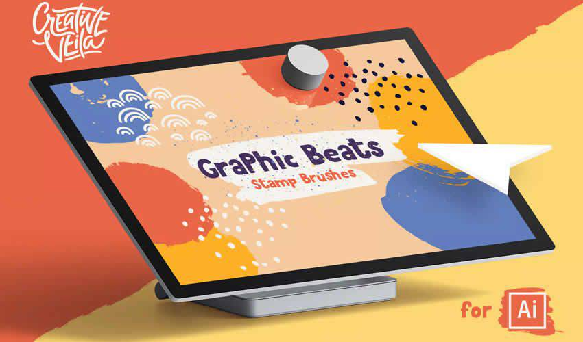 Massive Pack Symbols adobe illustrator brush brushes abr pack set free