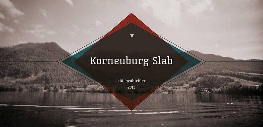 Korneuburg Slab free clean font typeface