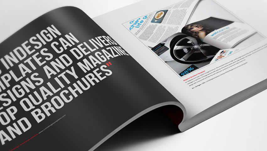 InDesign Product Brochure Template