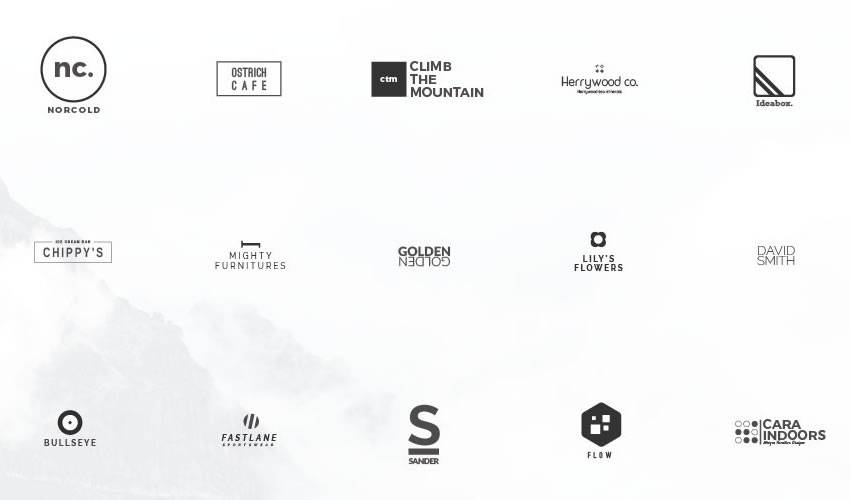 minimal ai illustrator psd photoshop free logo template brand collection pack