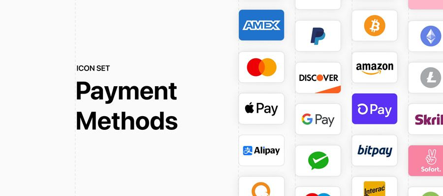 Free Payment Method Icon Set Figma