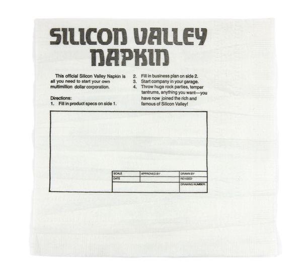 Silicon Valley Napkin ideas