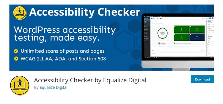 Accessibility Checker by Equalize Digital