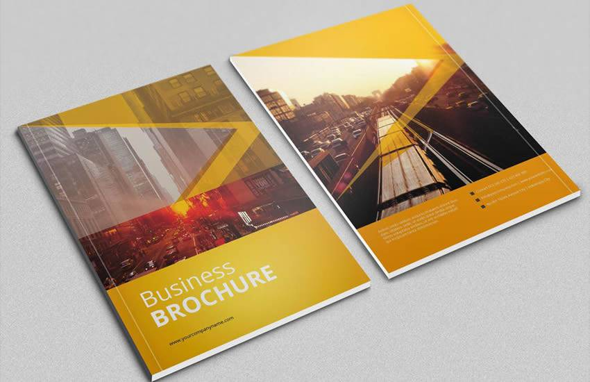 brochure business template format