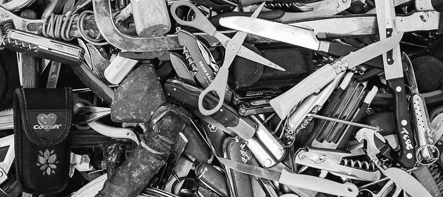 An assortment of tools.