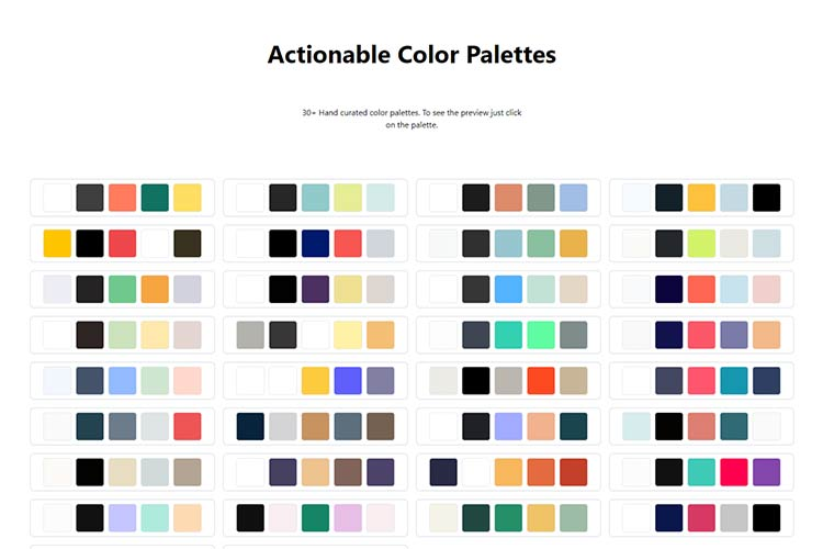 Example from Actionable Color Palettes